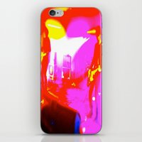 concert iPhone & iPod Skins featuring Concert by Kelsey Musselman