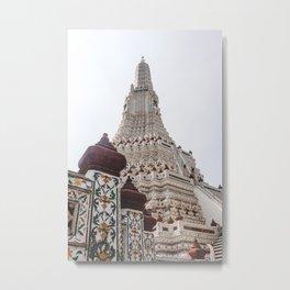 Wat Arun pagoda Metal Print
