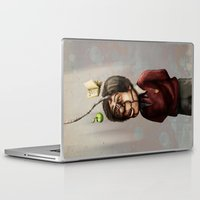 teacher Laptop & iPad Skins featuring Teacher by Lee Grace Design and Illustration