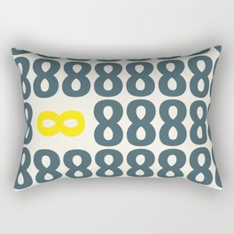 All finite - You infinite Rectangular Pillow