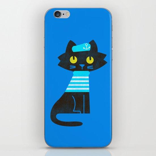 Fitz - Sailor cat iPhone & iPod Skin