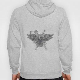 Viking Crow Hoody