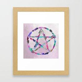 Pentacrystal Framed Art Print