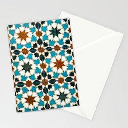 Moorish tiles Stationery Cards