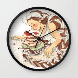 Berry Wall Clock