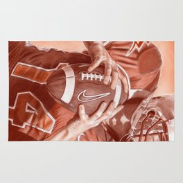 American Football Rug
