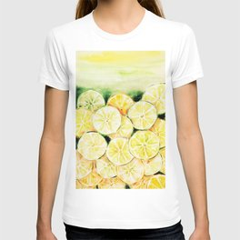 Limes and lemons T-shirt