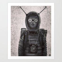 """""""Waitin' for Aliens"""" Art Print"""