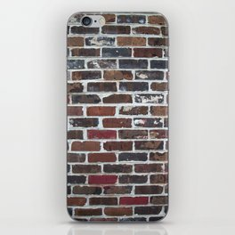 Brick Wall Vertical iPhone Skin
