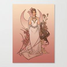 The Alderaan Rose Canvas Print
