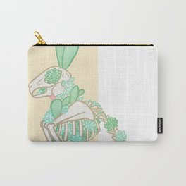 Skeleton Bunny Carry-All Pouch