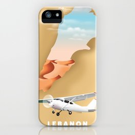 Lebanon iPhone Case