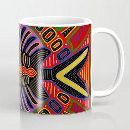 Kuna Indian Flying Fish Mola Coffee Mug