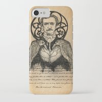 poe iPhone & iPod Cases featuring POE by CincottaStore