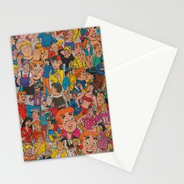 Archie Comics Collage Stationery Cards