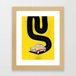 Road Hog Framed Art Print