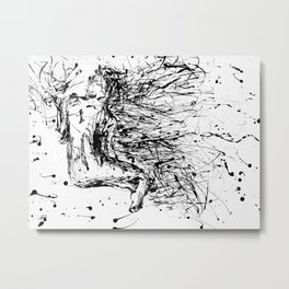 The Little Mermaid Metal Print