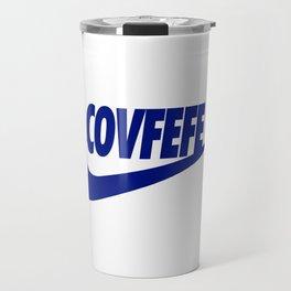 Covfefe [BLUE] Travel Mug