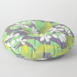 Pear Orchard Floor Pillow