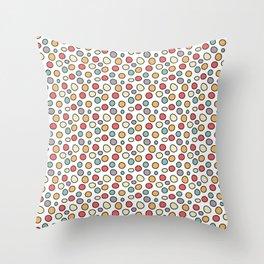 Raindots Bright Spots Throw Pillow