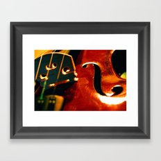 violin Framed Art Print