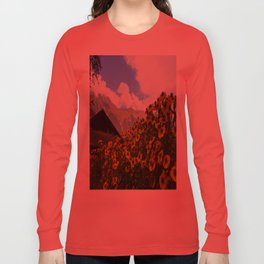Daisies and Alps Long Sleeve T-shirt