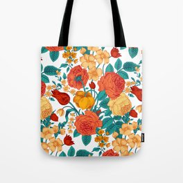 Vintage flower garden Tote Bag