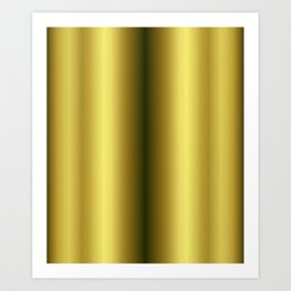 Gold leggings Art Print