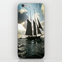 pirate ship iPhone & iPod Skins featuring Pirate Ship by @DaBrooks