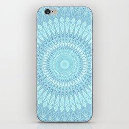 Ice Star Mandala iPhone Skin