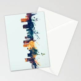 Fort Worth Texas Skyline Stationery Cards