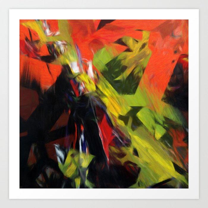 Chaoscop 44 Art Print
