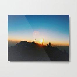 Mt. Quandry Sunrise Metal Print