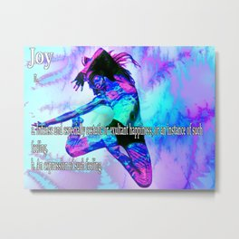 The Meaning of Joy Metal Print