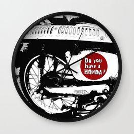 Do you have a HONDA? Wall Clock