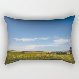 Summer Country, Glasgow Montana Rectangular Pillow