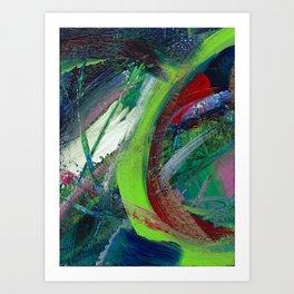 Glow Worm Art Print