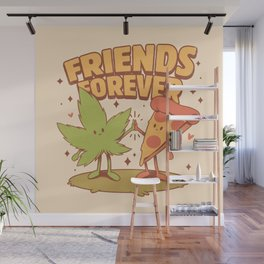 Cute Friends Wall Mural