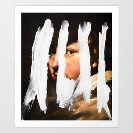 Untitled (Finger Paint 2) Art Print