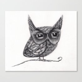 Hoot Owl Canvas Print