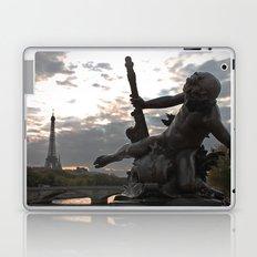Angels in Paris Laptop & iPad Skin