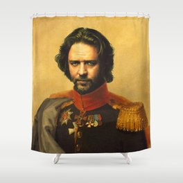 Russell Crowe - replaceface Shower Curtain