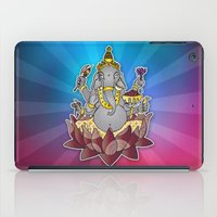 ganesh iPad Cases featuring Ganesh by Street But Elegant