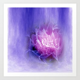dreaming lilac -6- Art Print