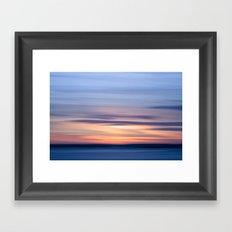 Painting the sky Framed Art Print