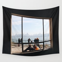 View From Alcatraz Wall Tapestry