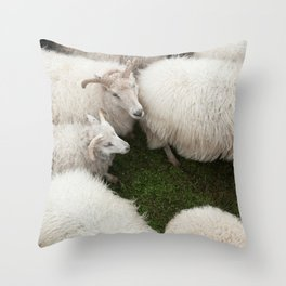 Here I come Throw Pillow