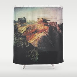 Fractions A89 Shower Curtain