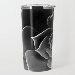 Black and White Succulent Travel Mug