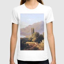 Crimean Landscape 1891 By Lev Lagorio | Reproduction | Russian Romanticism Painter T-shirt